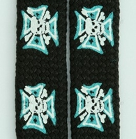 Shoelace Iron Cross-Skull