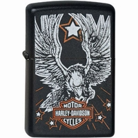 Zippo Harley Davidson Eagle - Star