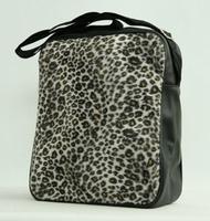 Fluffy bag Leopard