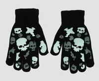 Handschoen Skulls