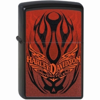 Zippo Harley Davidson Tank Tattoo