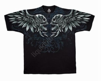 Liquid Blue T-Shirt Feathered Fury