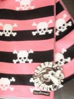 Liquor Brand sjaal Roze-zwart