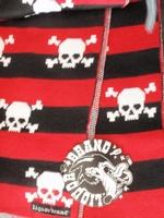 Liquor Brand scarf red