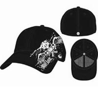 Hart Luck cap zwart