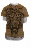 Miami Ink Brown Tiger T-shirt