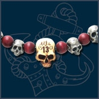 UL13 Alchemy Death Skull halsketting