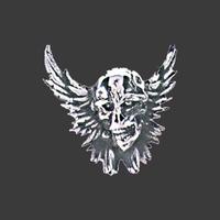 Inrijg ornament Skull