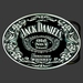 Buckle Jack Daniels round