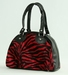 Bowlingbag Zebra red, small