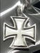 Hanger Iron Cross Silver