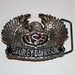 Buckle Harley Davidson USA Flying Wings Silver