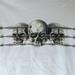 T-shirt Skulls in prikkeldraad