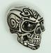 Buckle Tribal Skull