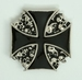 Buckle Iron Cross Skulls