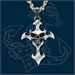 UL13 Alchemy Devil's Cross necklace