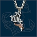 UL13 Alchemy Tattoo Gun necklace